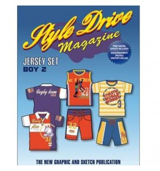 STYLE DRIVE MAGAZINE JERSEY SET 2 - BOY Shop Online
