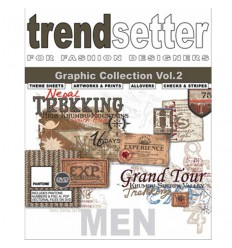 TRENDSETTER MEN GRAPHIC COLLECTION VOL.2 INCL. DVD