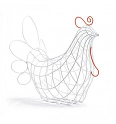 SELETTI SHAPED BASKETS HEN FANTASTIC HOME