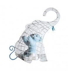 SELETTI - ELEPHANT BASKETS HEN FANTASTIC HOME
