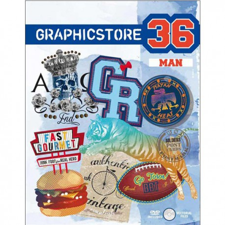 Graphicstore - Man Vol. 36 incl. DVD