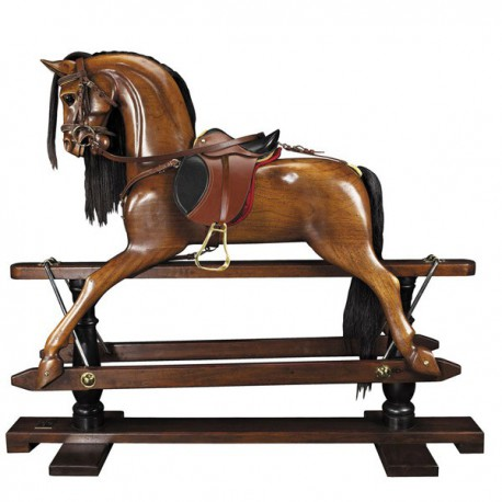 AUTHENTIC MODELS - CAVALLO A DONDOLO DRESSAGE