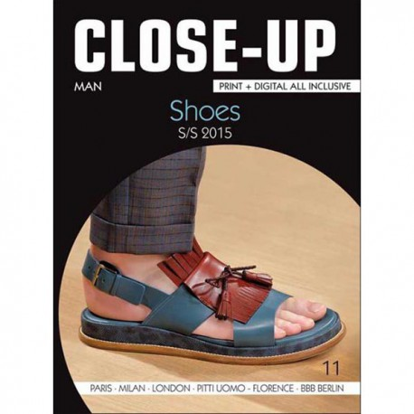 Close-Up Men Shoes no. 11 S/S 2015