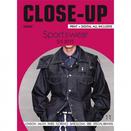 Close-Up Men Sportswear no. 11 S/S 2015 Miglior Prezzo