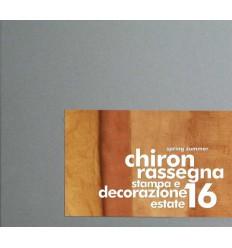 CHIRON RASSEGNA STAMPA S-S 2016 Shop Online