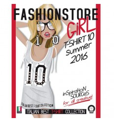 Fashionstore - Girl T-Shirt Vol. 10 incl. DVD S/S 2016 Shop