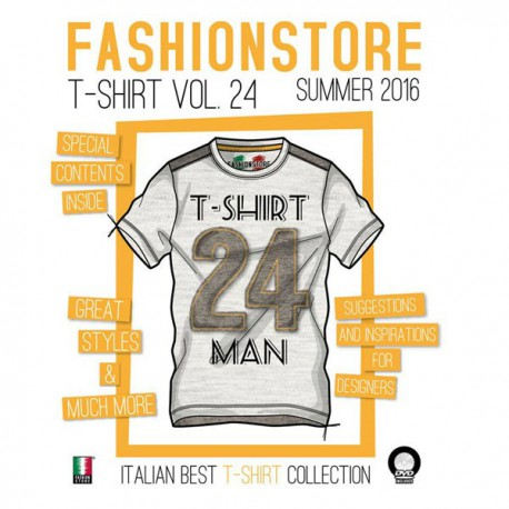 Fashionstore - T-Shirt Man Vol. 24 incl. DVD S/S 2016 Shop