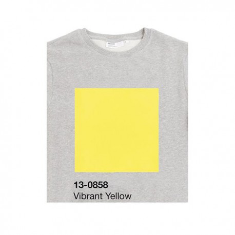SWEAT PANTONE 13-0858 Vibrant Yellow