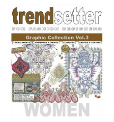 TRENDSETTER WOMEN GRAPHIC COLLECTION VOL. 3 INCL. DVD Shop