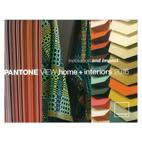 PANTONE VIEW HOME + INTERIOR 2016