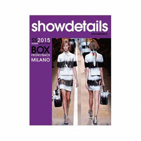 SHOW DETAILS BOX FRONT-BACK 10 S-S 2015 Miglior Prezzo