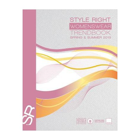 STYLE RIGHT WOMEN'S TREND BOOK S-S 2013 INCL DVD