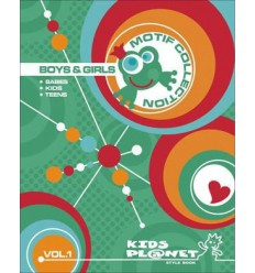 KIDS PLANET MOTIF COLLECTION BOYS & GIRLS + DVD Shop Online