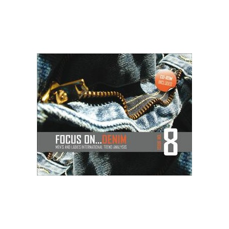 FOCUS ON DENIM VOL 8 INCL CD ROM