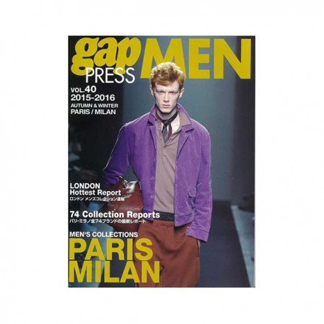 GAP PRESS MEN 40 A-W 2015-16 PARIS-MILAN