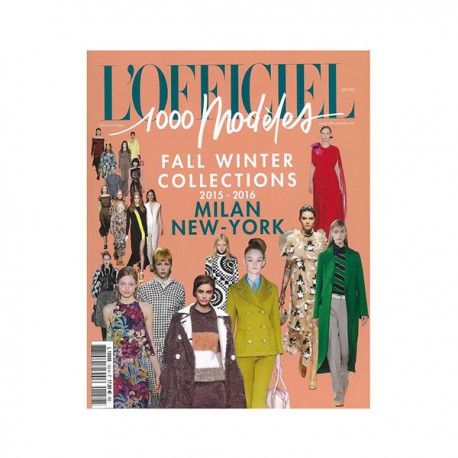 L'OFFICIEL 1000 MODELS 152 MILAN-NY A-W 2015-16