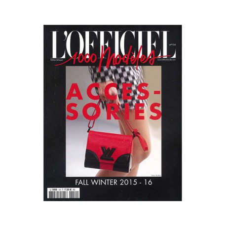 L'OFFICIEL 1000 MODELS 154 ACCESSORIES A-W 2015-16