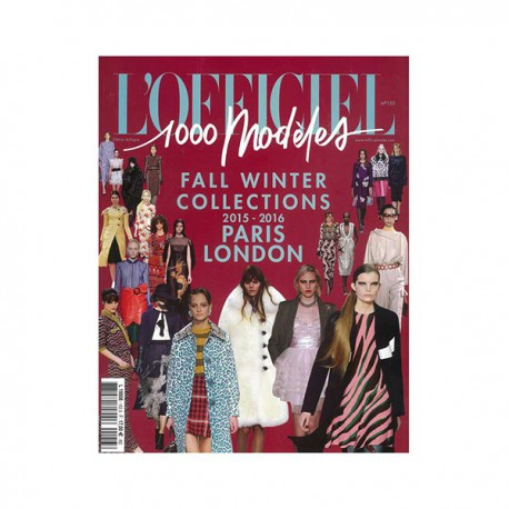 L'OFFICIEL 1000 MODELS 153 PARIS-LONDON A-W 2015-16