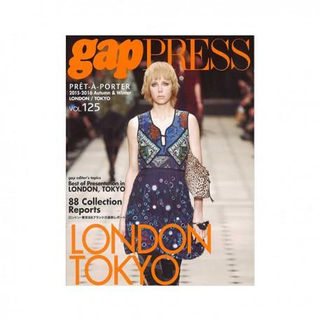 GAP PRESS 125 LONDON-TOKYO A-W 2015-16 Shop Online