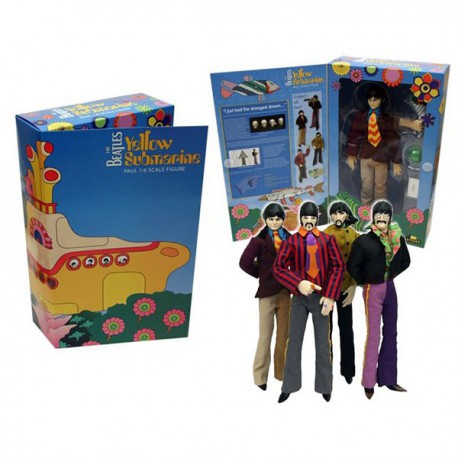 "BEATLES YELLOW SUBMARINE 12"" FIG SET (4)"