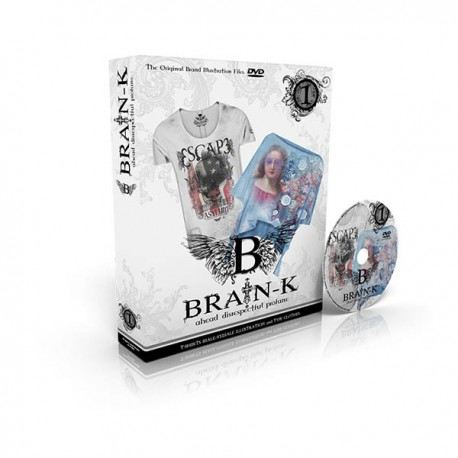 BRAIN – K TSHIRTS BOOK Volume 1