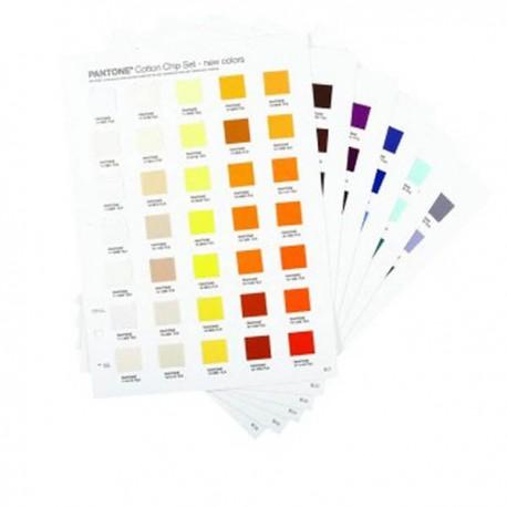 PANTONE Fashion & Home Cotton Chip Set 210 colors supplement