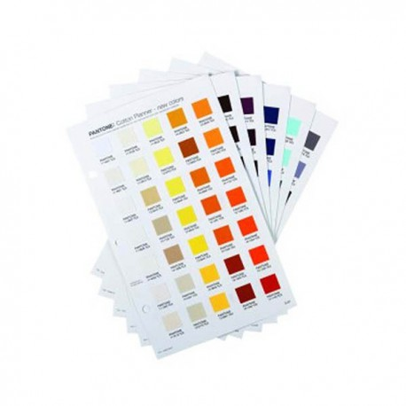PANTONE COTTON PLANNER SUPPLEMENTO 210 COLORI